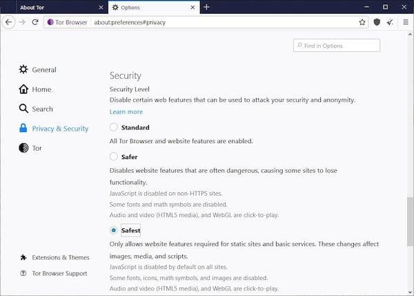 Tor Browser 9.0.7 lançado com a correção de um bug que poderia descriptografar os usuários