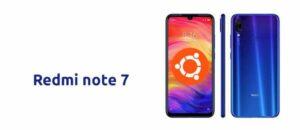 Xiaomi Redmi Note 7 executando o Ubuntu Touch? Sim, é possível!