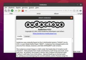 Audacious 4.0.2 lançado com correções de bugs e ajustes na interface