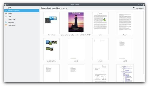 Calligra 3.2 lançada com melhor interoperabilidade com o LibreOffice