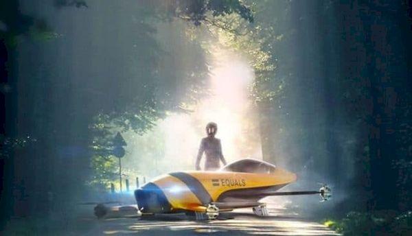 Carros elétricos voadores em corridas logo serão uma realidade