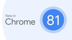 Chrome 81 lançado com 32 correções de segurança e Web NFC API