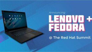 Em breve o Fedora Linux estará disponível em alguns laptops da Lenovo