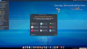 Emmabuntus DE4 Alpha 1 lançado com o navegador Falkon e mais