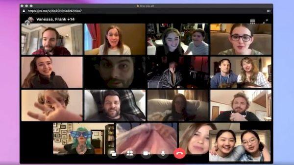 Facebook lançou o recurso de chamada de vídeo gratuita para 50 pessoas sem limite de tempo