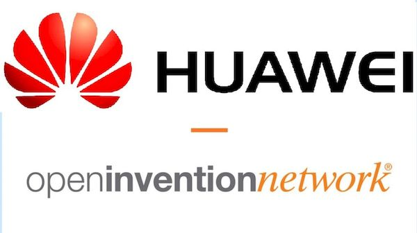 Huawei ingressou na Open Invention Network (OIN)