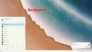 KDE Plasma 5.18.4 ainda não chegou ao repositório Backports do projeto
