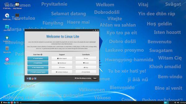 Linux Lite 5.0 RC1 lançado com kernel 5.4 LTS e suporte a UEFI