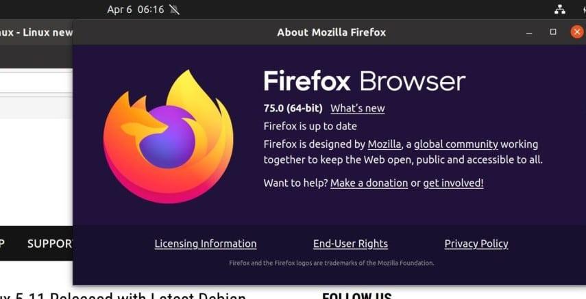 mozilla firefox 75 ja esta disponivel para download - Mozilla Firefox 75 já está disponível para download
