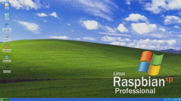 Raspbian XP – um novo clone do Windows XP para Raspberry Pi