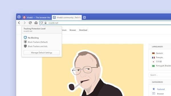 Vivaldi 3.0 lançado com novos rastreadores e bloqueadores de anúncios