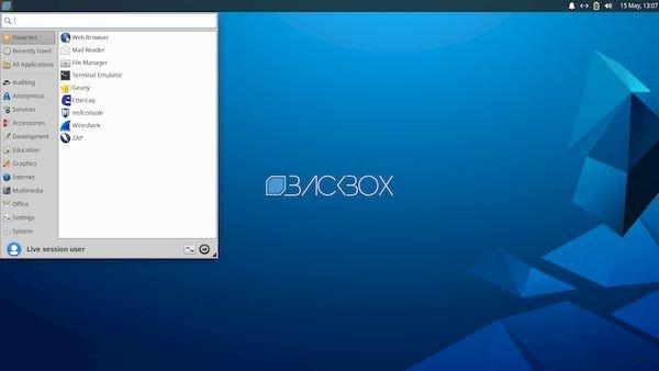 BackBox Linux 7 lançado com o kernel 5.4 e o Xfce 4.14