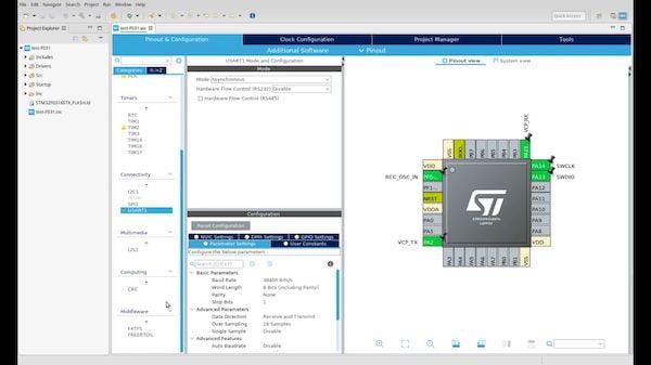 Como instalar a IDE STM32 STM32CubeIDE no Linux via Flatpak
