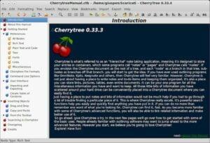 Como instalar o app de anotações Cherrytree no Linux via Flatpak