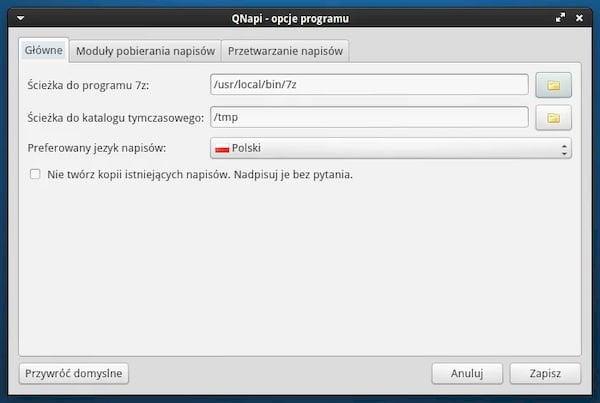 Como instalar o baixador de legendas QNapi no Linux via Flatpak