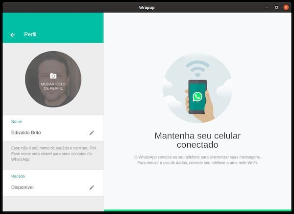 Como instalar o cliente WhatsApp Wrapup no Linux via Snap