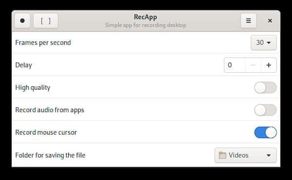 Como instalar o gravador de tela RecApp no Linux via Flatpak