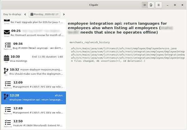 Como instalar o visualizador de atividades Cigale no Linux via Flatpak