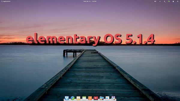elementary OS 5.1.4 lançado com melhorias no menu de aplicativos