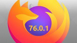 Firefox 76.0.1 lançado para corrigir apenas alguns bugs