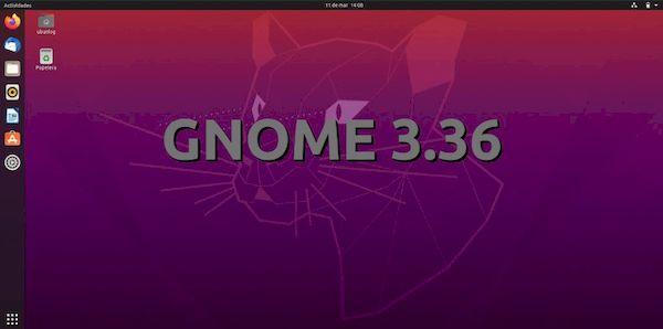 GNOME 3.36.2 lançado com várias correções de bugs e melhorias