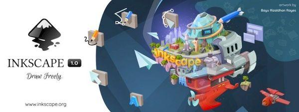 Inkscape 1.0 lançado após três anos em produção