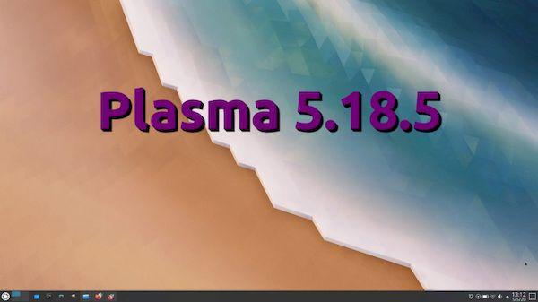 KDE Plasma 5.18.5 lançado com 66 alterações e mais