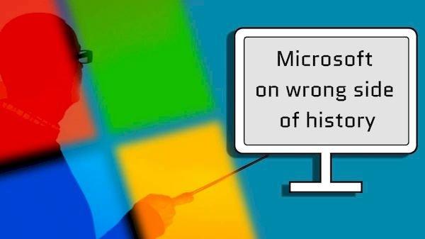 Microsoft admitiu que estava errada sobre o código aberto