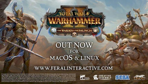 Total War: WARHAMMER II – The Warden & The Paunch DLC já está disponível para Linux