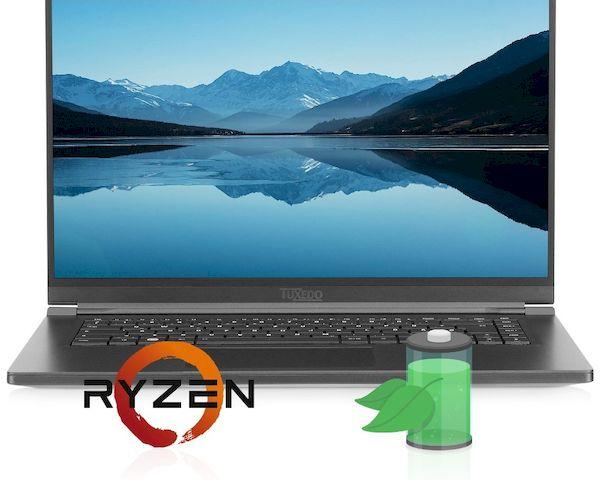 TUXEDO Computers lançou seu primeiro laptop Linux somente com AMD