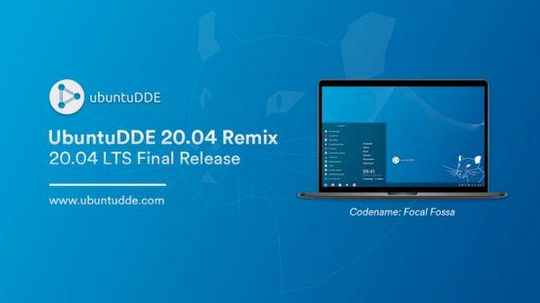 ubuntudde 20 04 lancado - UbuntuDDE 20.04 lançado com Deepin 5.0 e kernel 5.4