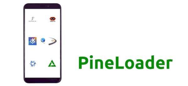 Vídeo mostra o PineLoader iniciando vários sistemas