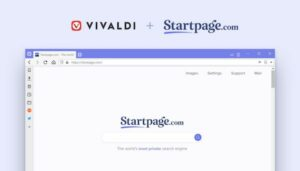 Vivaldi oferecerá mais opções de privacidade com o Startpage