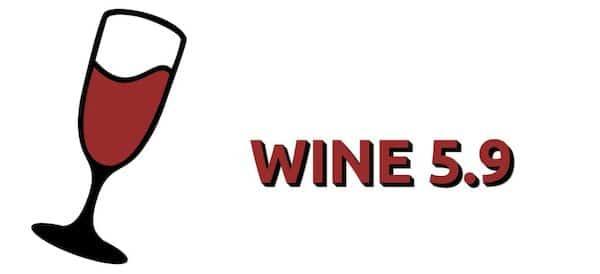 WINE 5.9 lançado com mais de 300 alterações e correções