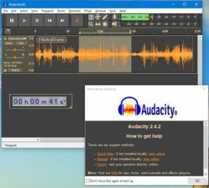 Audacity 2.4.2 lançado com a biblioteca wxWidgets atualizada e mais