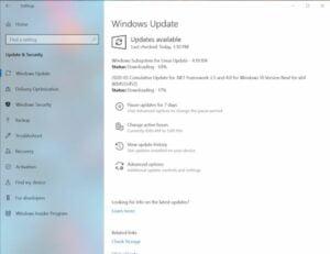 Como as atualizações do kernel do Linux serão distribuídas no Windows