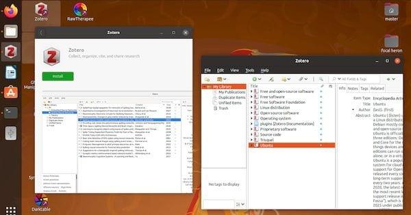 Como instalar o assistente de pesquisa Zotero no Linux