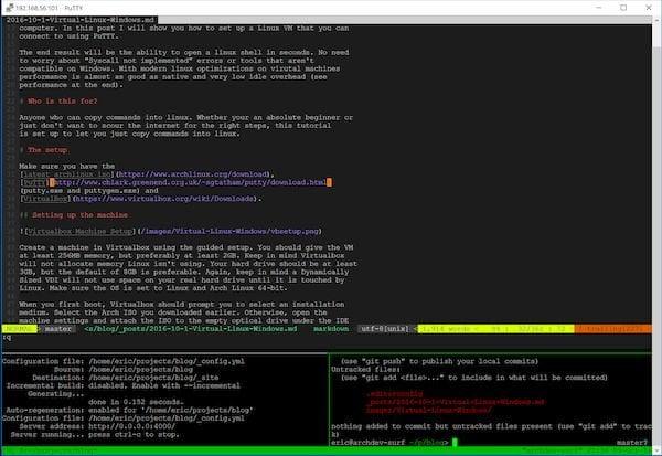 Como instalar o cliente SSH Putty no Arch Linux e derivados