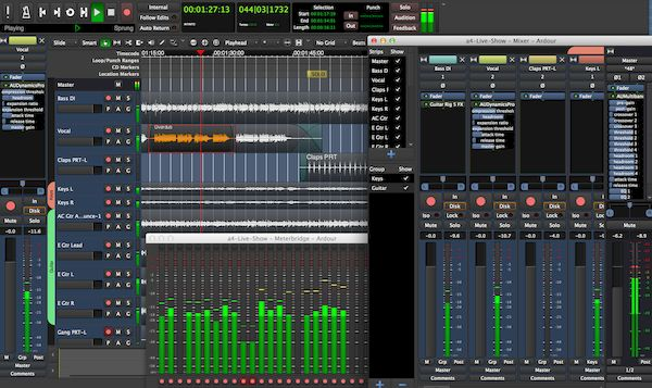 Como instalar o digital audio workstation Ardour no Linux via Flatpak