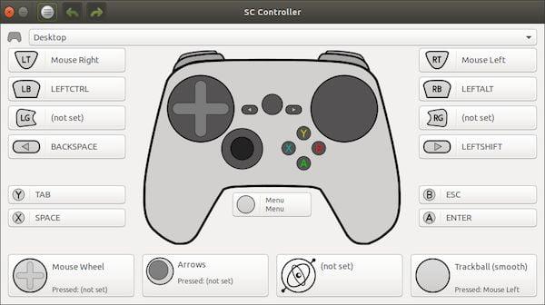 Como instalar o driver Steam Controller sc-controller no Linux via Snap