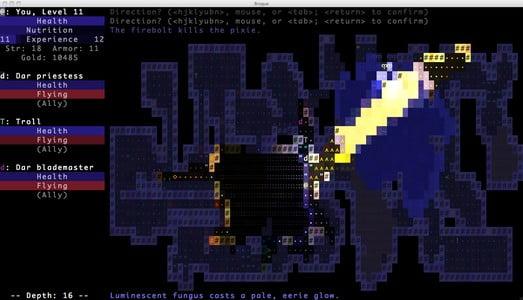 Como instalar o game roguelike BrogueCE no Linux via Flatpak