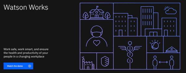 IBM lançou o Watson Works para gerenciar o novo normal do trabalho em meio a pandemia de COVID-19