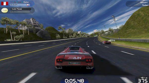 Como instalar o jogo TrackMania United Forever no Linux via Snap