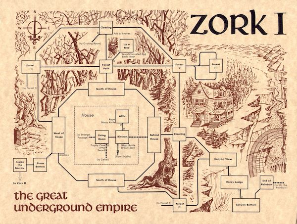 Como instalar o jogo Zork: The Great Underground Empire no Linux