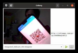 Como instalar o leitor de QR code CoBang no Linux via Flatpak