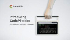 CutiePi é o tablet Raspberry Pi mais fino e hacker do mundo