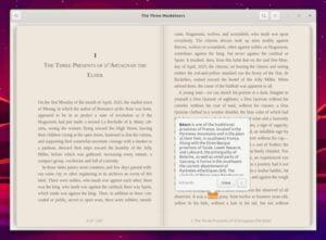 Foliate 2.2.0 lançado com suporte básico de conversão de texto em fala
