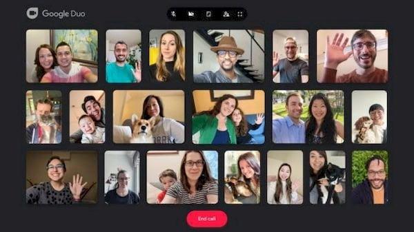 Google Duo agora permite vídeo chamadas em grupo com até 32 pessoas