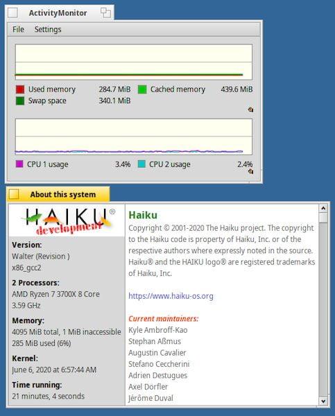 Haiku R1 Beta 2 lançado com melhorias no suporte ao HiDPI e mais