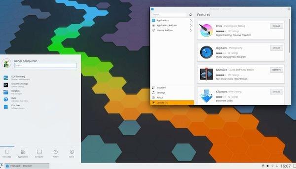 KDE Plasma 5.19.1 lançado com 30 correções de bugs incluídas